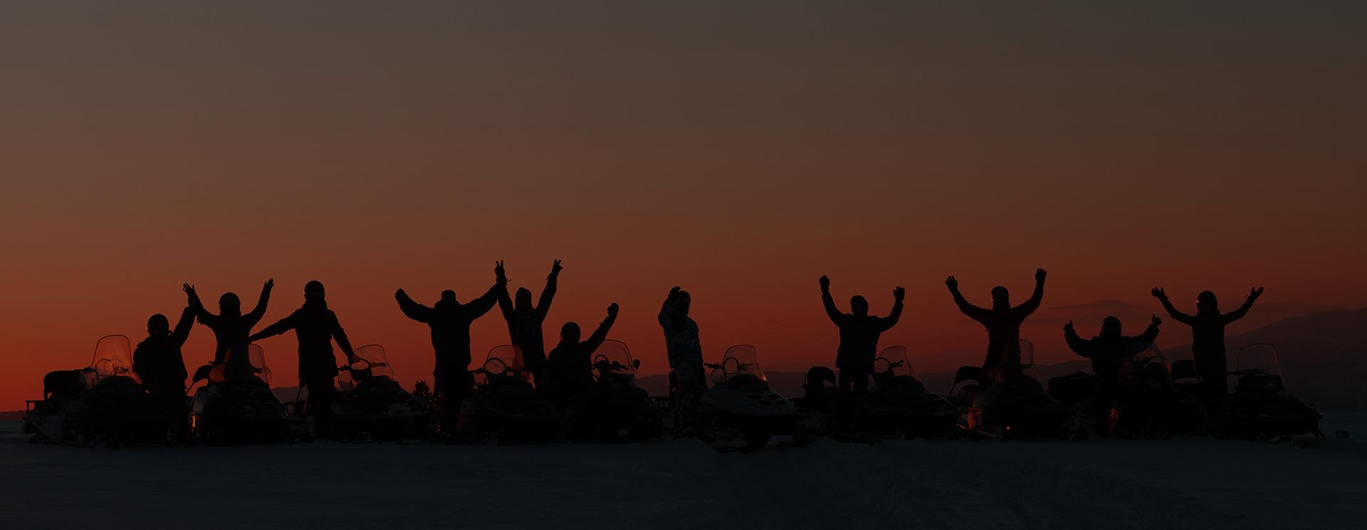 Снегоходные туры и экспедиции на высококлассных снегоходах с ночёвками в таёжных избах
